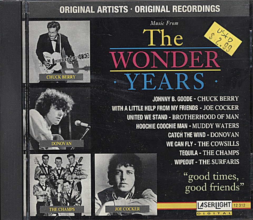 The Wonder Years: Good Times, Good Friends CD