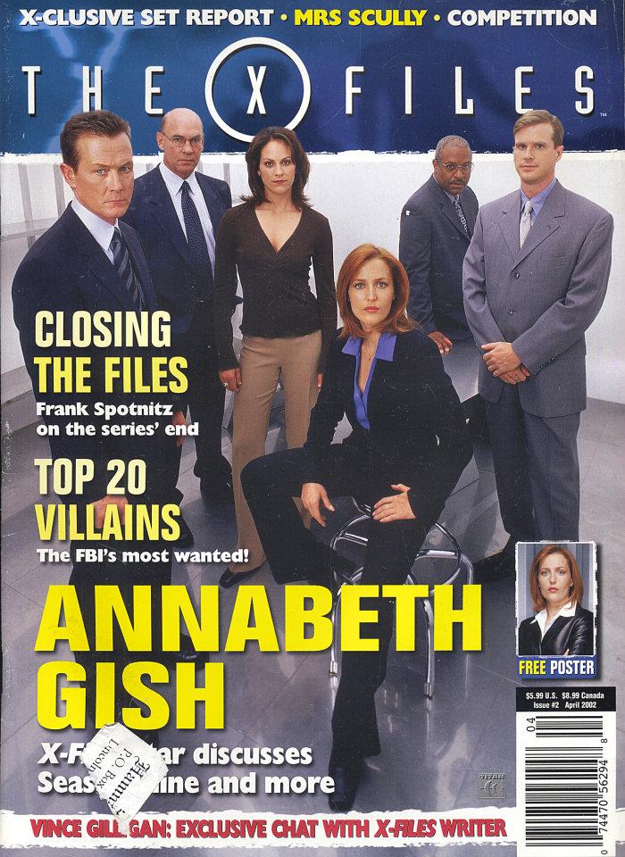 The X Files Apr 1,2002