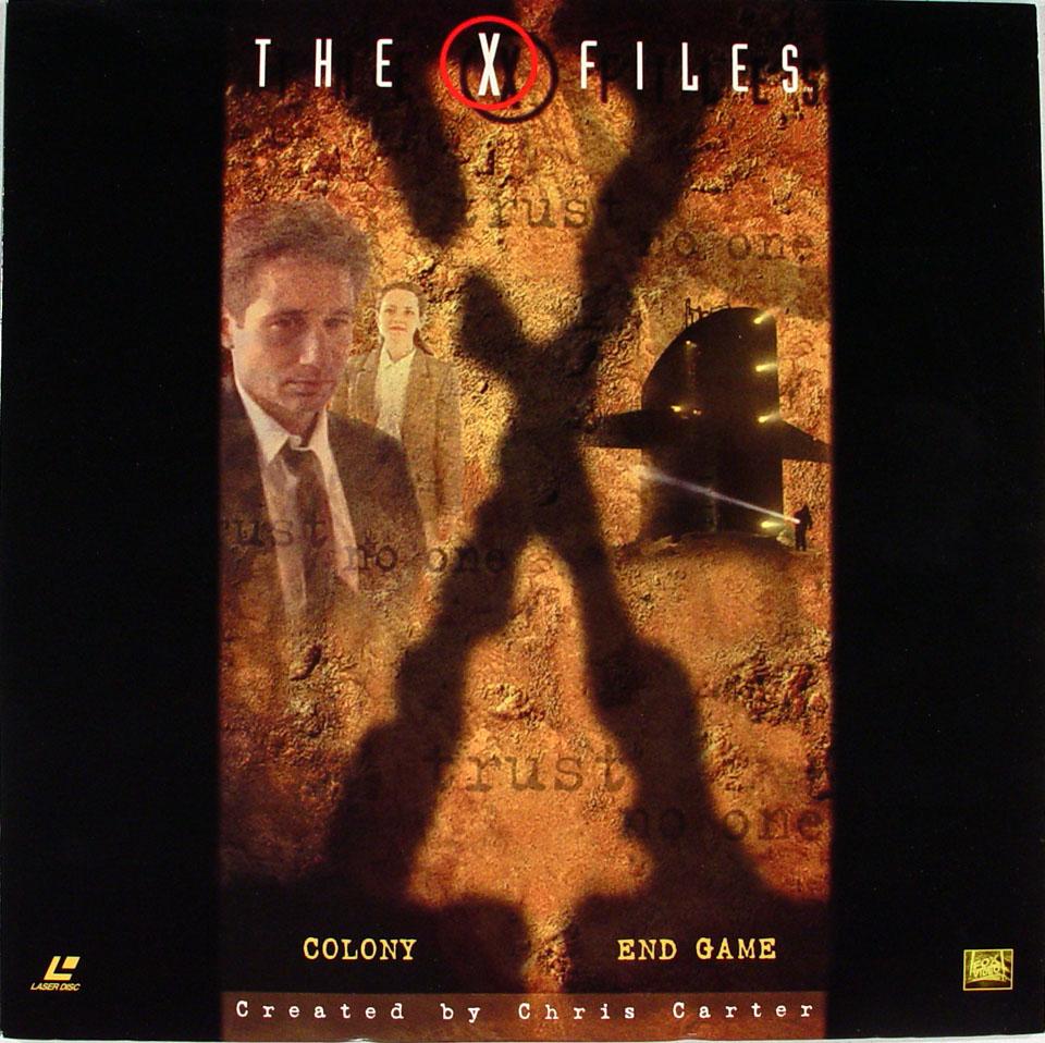 The X Files Laserdisc