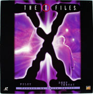 The X Files Laserdisc