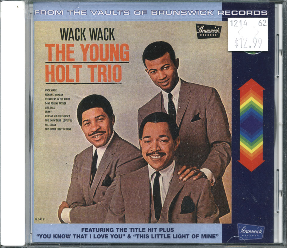 The Young Holt Trio CD