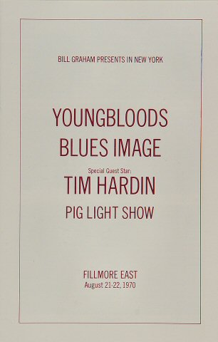 The Youngbloods Program reverse side