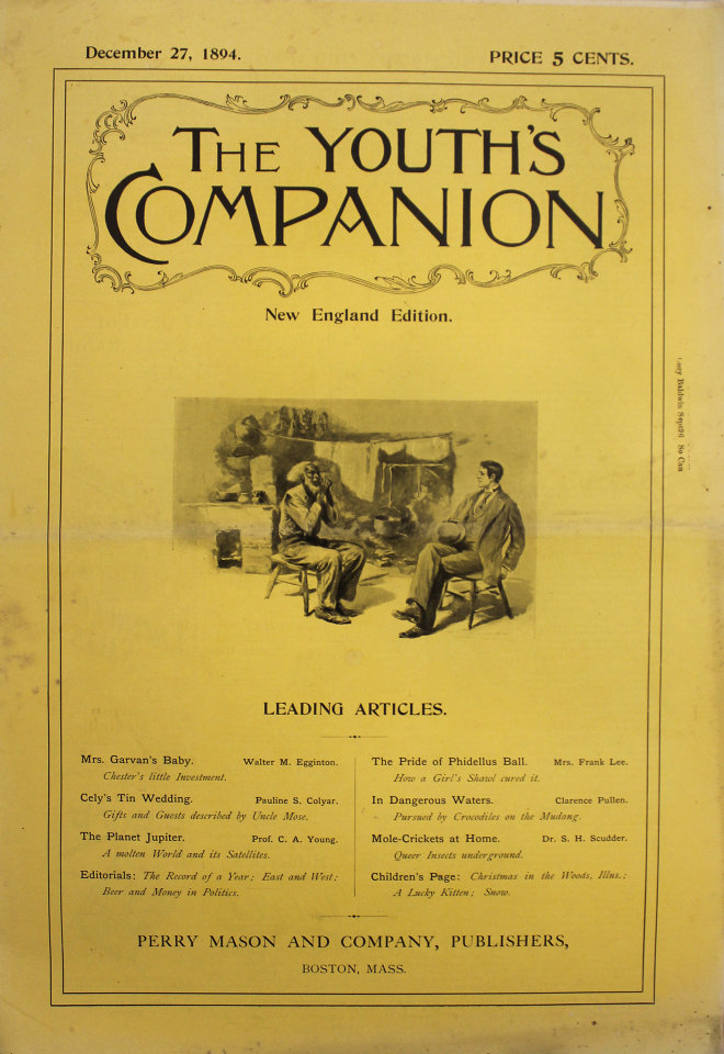 The Youth's Companion No. 3,527 68th Year