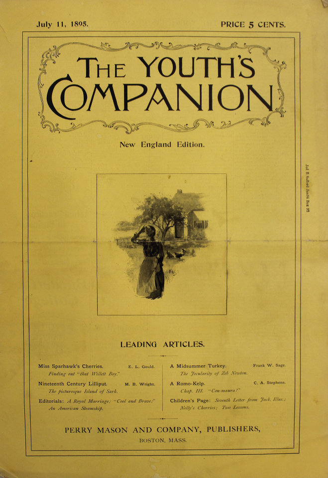 The Youth's Companion No. 3,555 69th Year