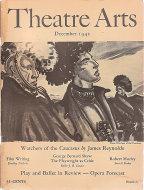 Theatre Arts Dec 1,1942 Magazine