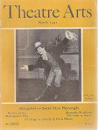 Theatre Arts Mar 1,1942 Magazine