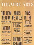 Theatre Arts Oct 1,1961 Magazine
