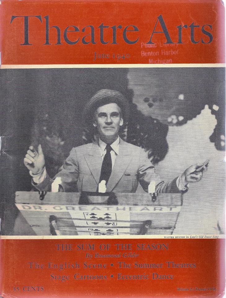 Theatre Arts Vol. XXIV No. 6