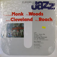 "Thelonious Monk / Phil Woods / Jimmy Cleveland / Max Roach Vinyl 12"" (New)"