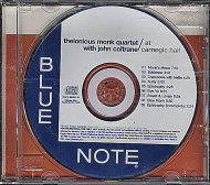 Thelonious Monk Quartet CD