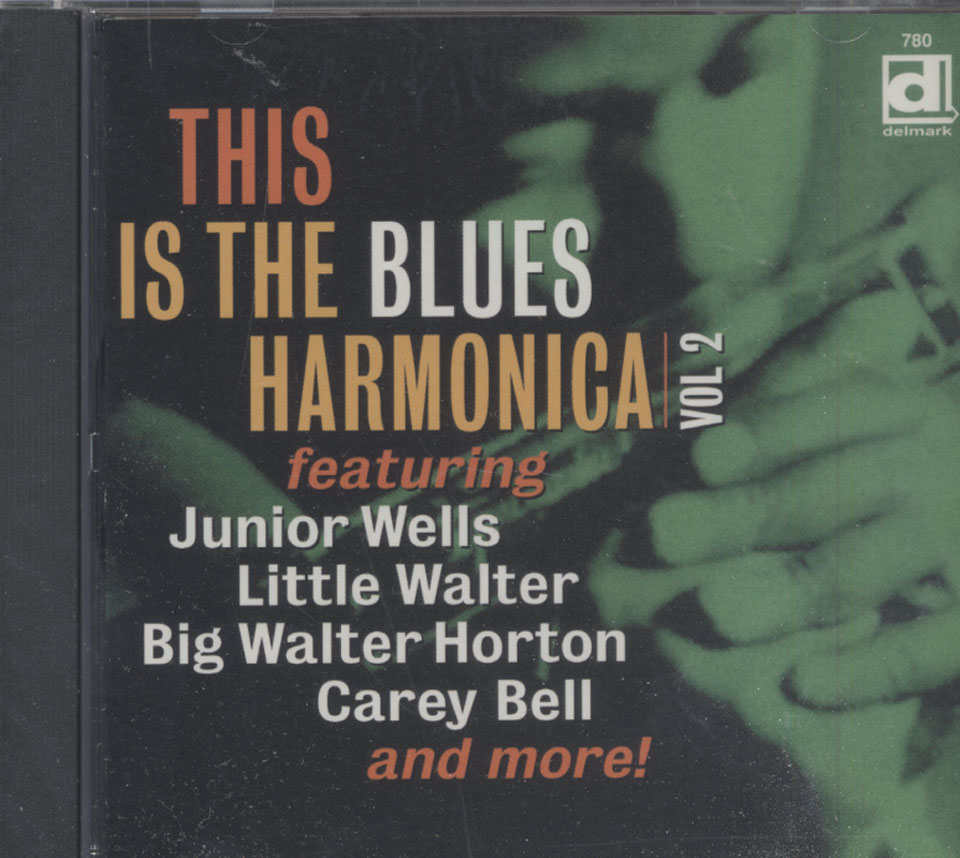 This Is The Blues Harmonica: Vol 2 CD