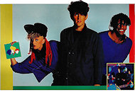 Thompson Twins Poster