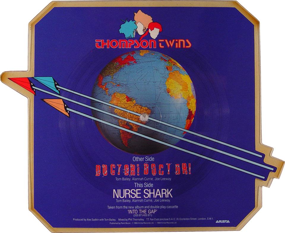 """Thompson Twins Vinyl 7"""" (Used)"""