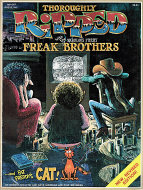 Thoroughly Ripped with the Fabulous Furry Freak Brothers Book
