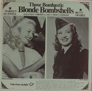 "Those Bombastic Blonde Bombshells Vinyl 12"" (New)"