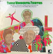 "Those Wonderful Thirties Vinyl 12"" (Used)"