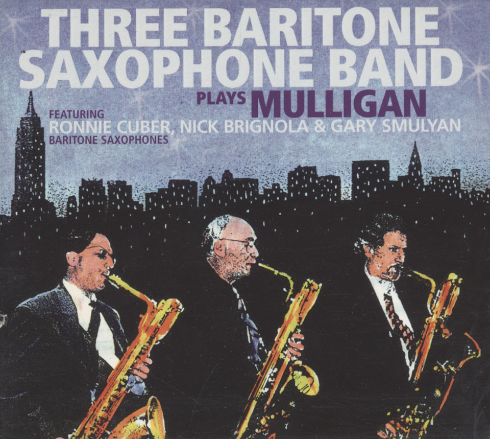 Three Baritone Saxophone Band CD