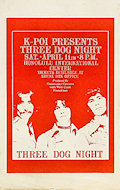 Three Dog Night Handbill
