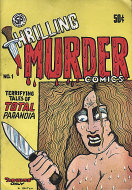 Thrilling Murder Comics Comic Book