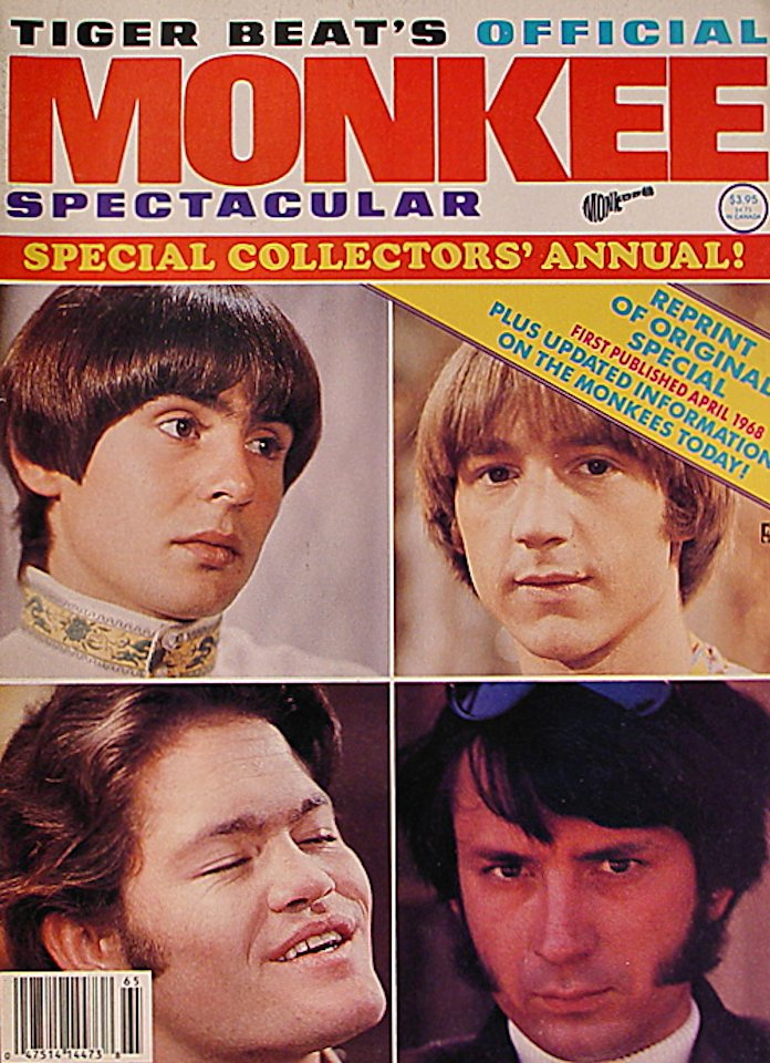 Tiger Beat Apr 1,1968 Magazine