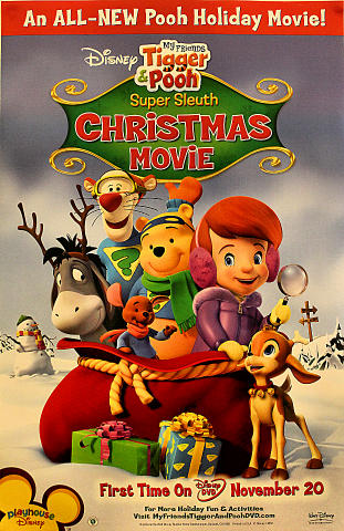 Tigger And Pooh Super Sleuth Christmas Movie Poster