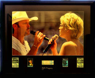 Tim McGraw & Faith Hill Vintage Print