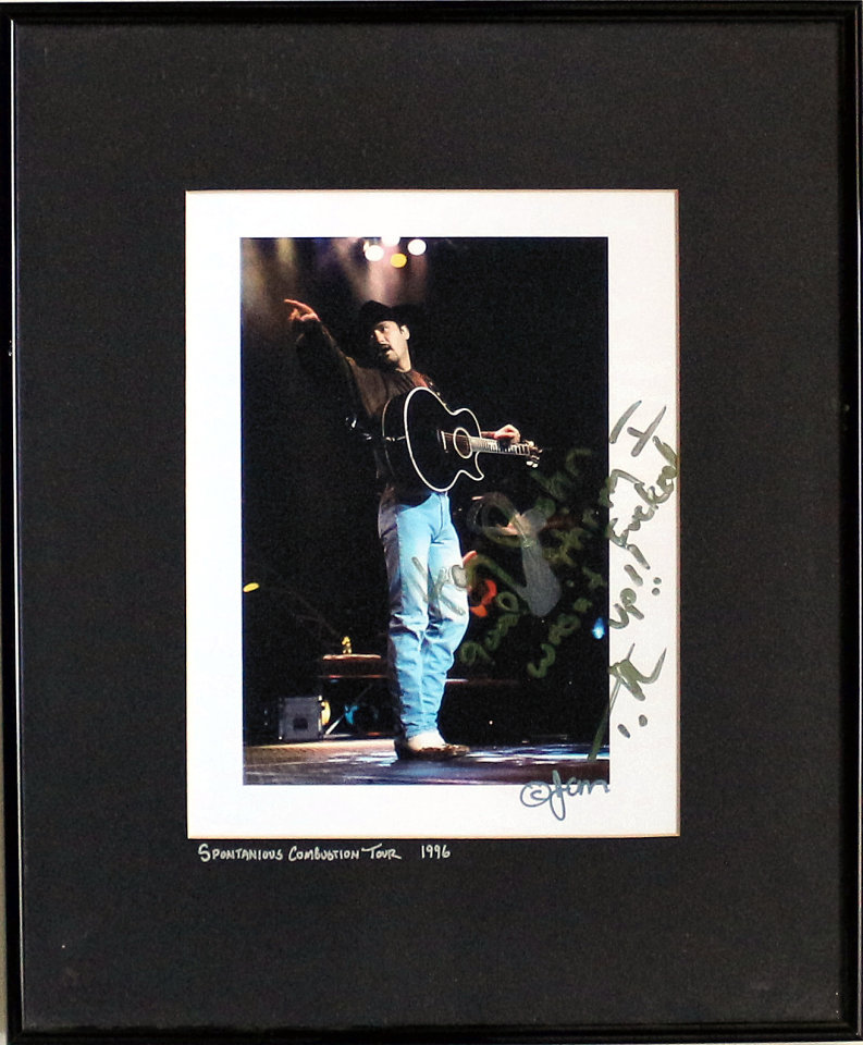 Tim McGraw Framed Vintage Print