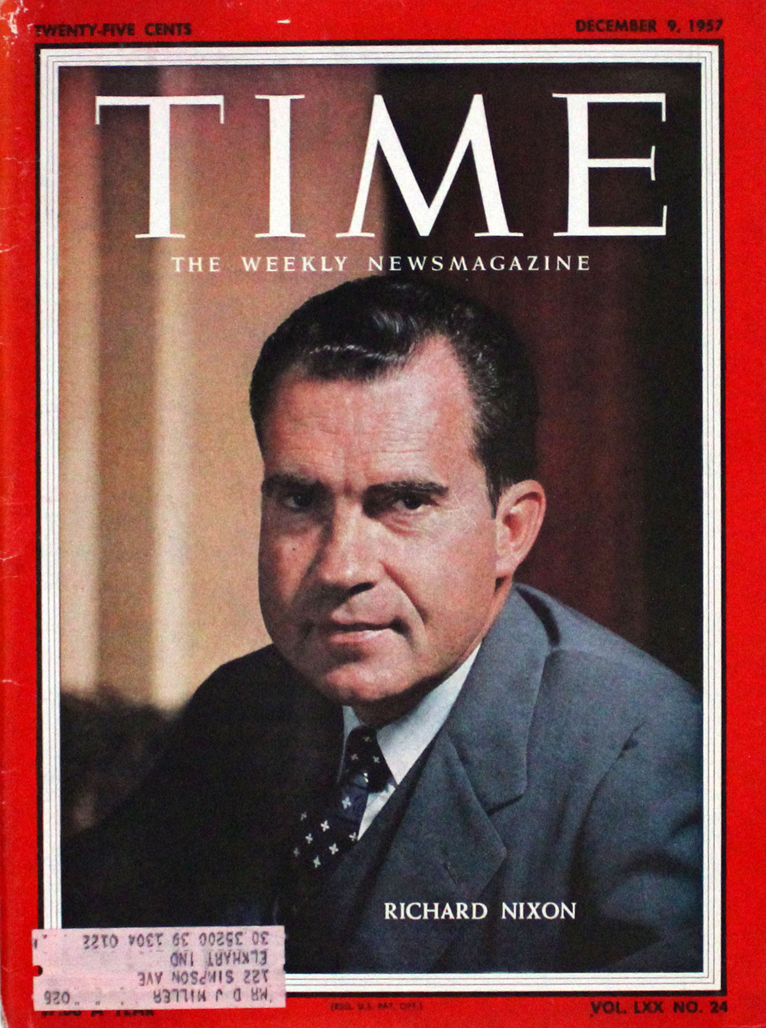 Time  Dec 9,1957