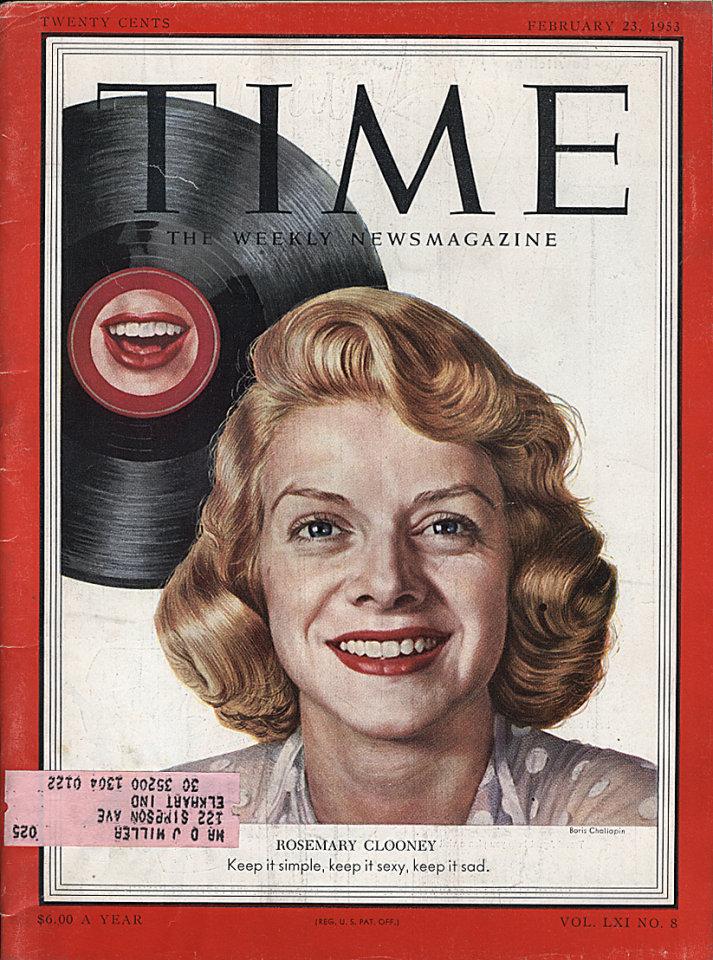 Time  Feb 23,1953