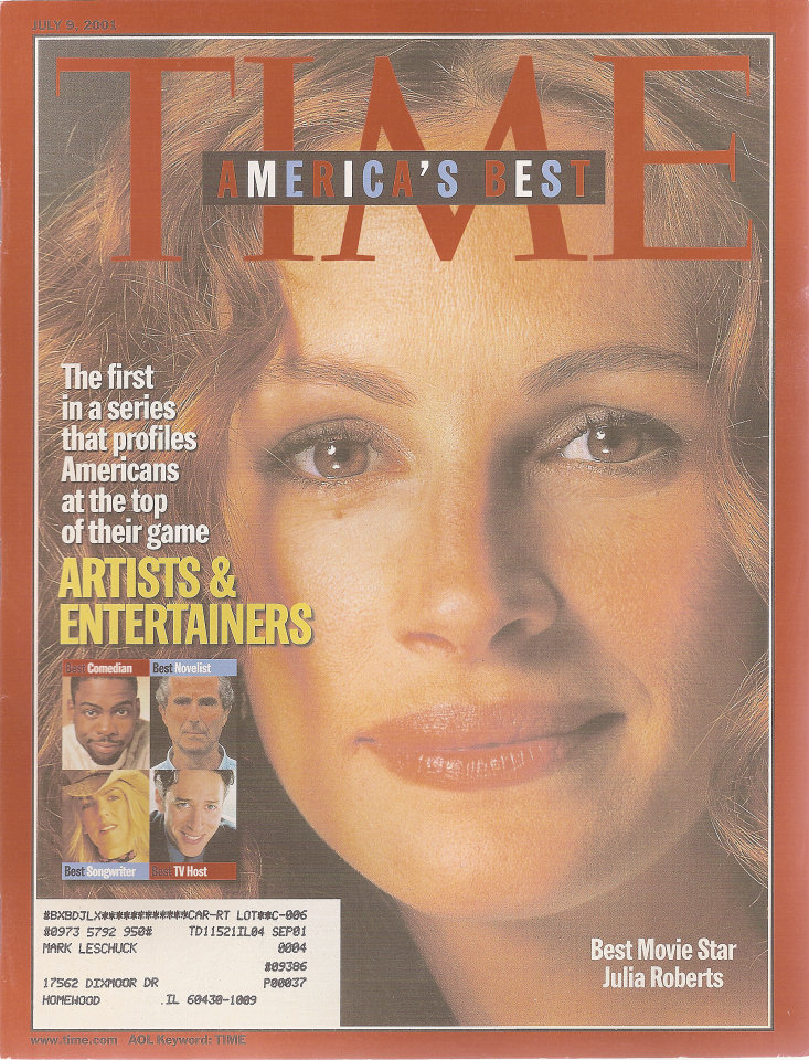Time  Jul 9,2001