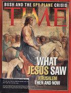 Time Magazine April 16, 2001 Magazine