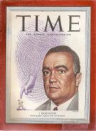 Time Magazine August 8, 1949 Magazine