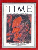 Time Magazine August 9, 1943 Magazine