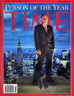 Time Magazine December 31, 2001 Magazine