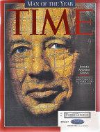 Time Magazine January 5, 1998 Magazine