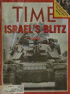 Time Magazine June 21, 1982 Magazine