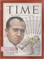 Time Magazine March 29, 1954 Magazine