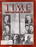 Time Magazine November 21, 1969 Magazine