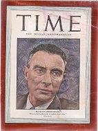 Time Magazine November 8, 1948 Magazine
