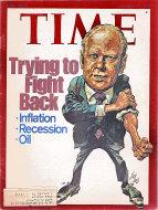Time Magazine October 14, 1974 Magazine