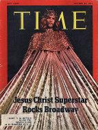 Time Magazine October 25, 1971 Magazine