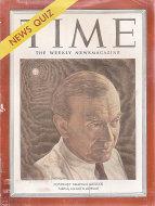 Time Magazine October 29, 1951 Magazine