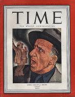 Time Magazine Vol. XLIII No. 4 Magazine
