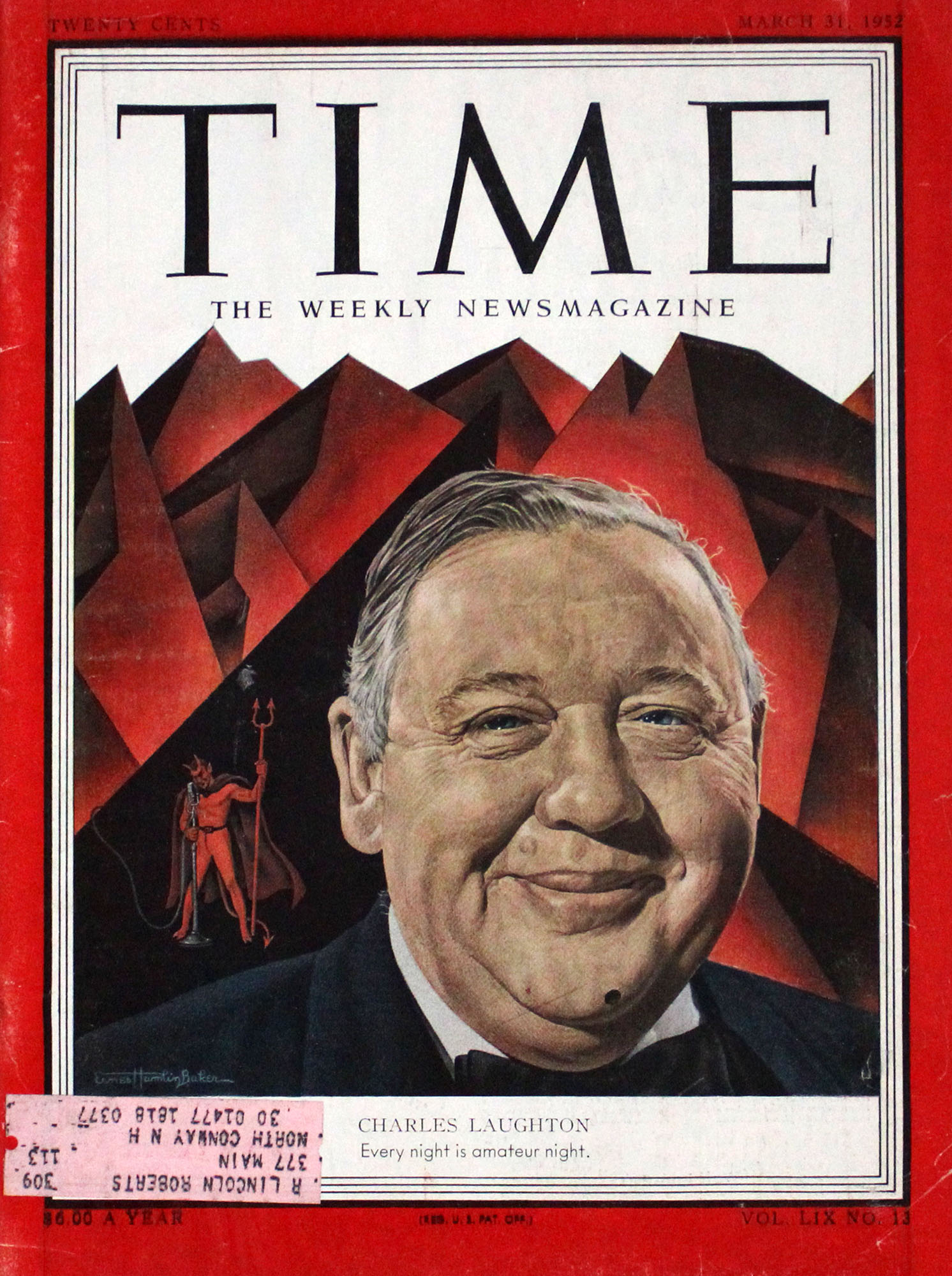 Time  Mar 31,1952