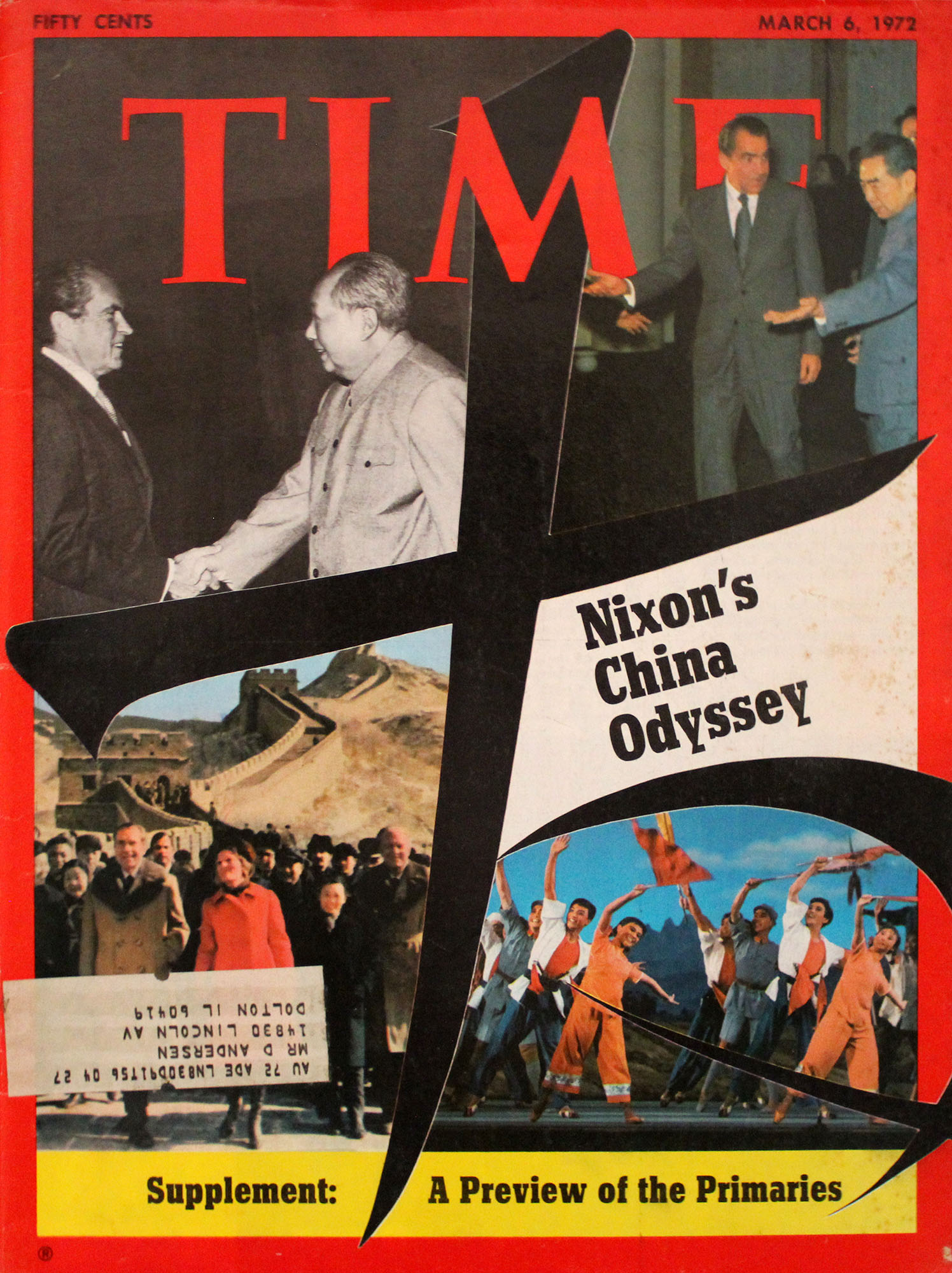 Time  Mar 6,1972