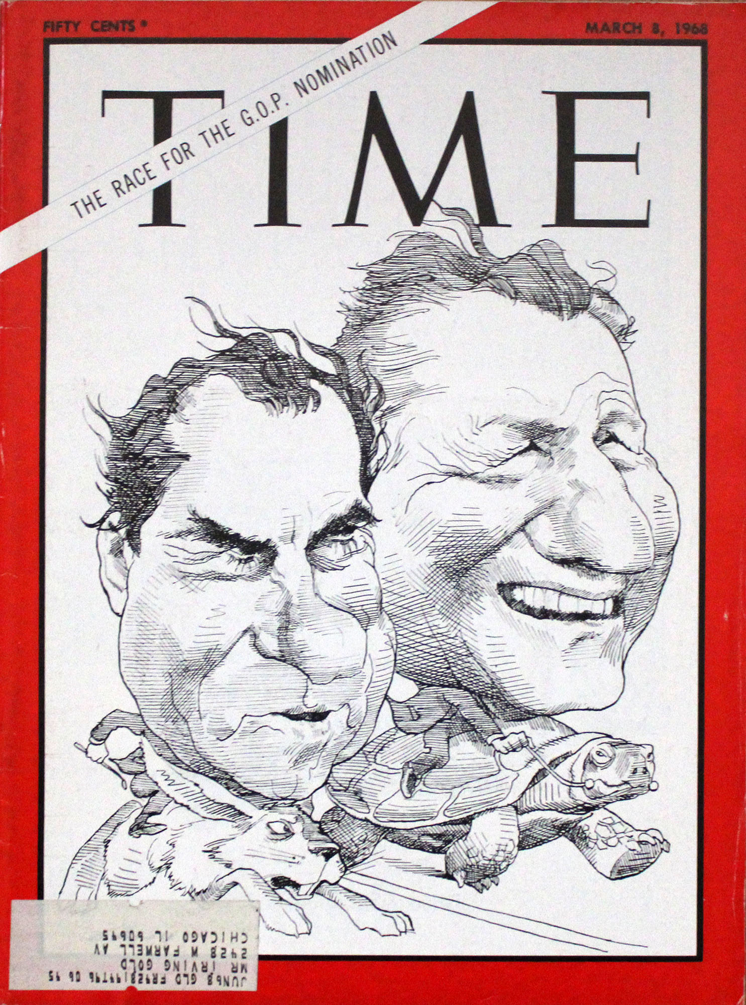 Time  Mar 8,1968