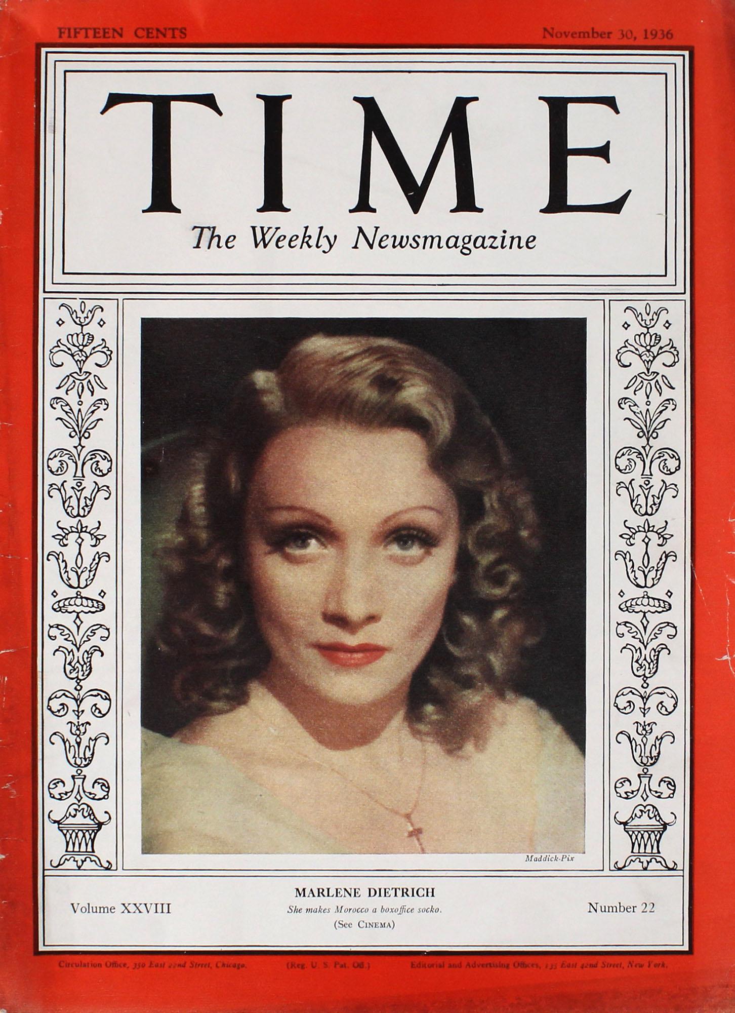 Time  Nov 30,1936