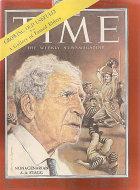 Time  Oct 20,1958 Magazine