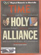 Time Vol. 139 No. 8 Magazine