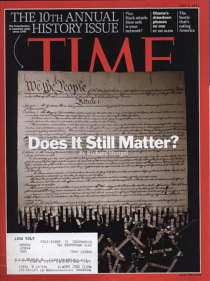 Time Vol. 178 No. 1